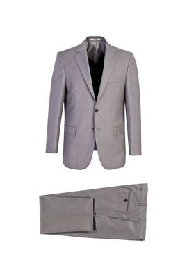 Erkek Giyim - AÇIK GRİ 54 Beden Klasik Takım Elbise