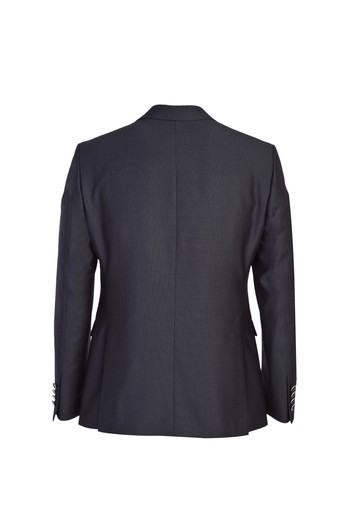 Erkek Giyim - Slim Fit Mono Yaka Yelekli Smokin / Damatlık