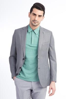 Erkek Giyim - Açık Gri 50 Beden Bambu Ceket