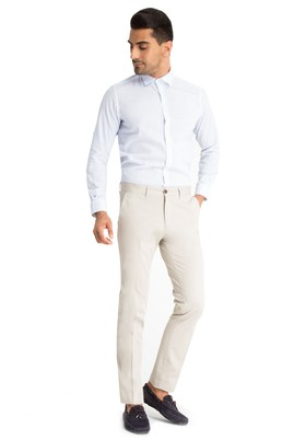 Erkek Giyim - Kum 48 Beden Slim Fit Spor Pantolon