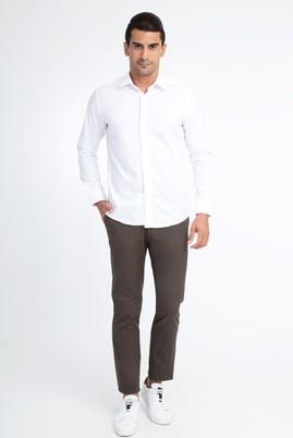 Erkek Giyim - HAKİ 52 Beden Slim Fit Spor Pantolon