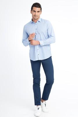 Erkek Giyim - KOYU MAVİ 50 Beden Slim Fit Spor Pantolon
