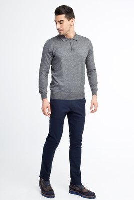 Erkek Giyim - Lacivert 52 Beden Spor Pantolon