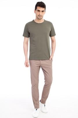 Erkek Giyim - VİZON 52 Beden Slim Fit Spor Pantolon