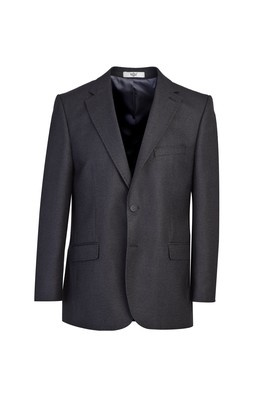 Erkek Giyim - AÇIK ANTRASİT 56 Beden Klasik Kuşgözü Ceket