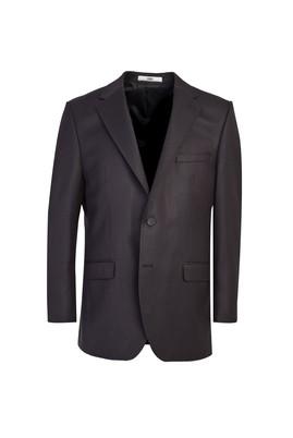 Erkek Giyim - SİYAH 54 Beden Klasik Kuşgözü Ceket