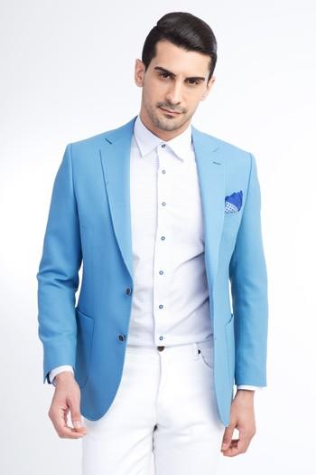 Erkek Giyim - Yünlü Spor Ceket