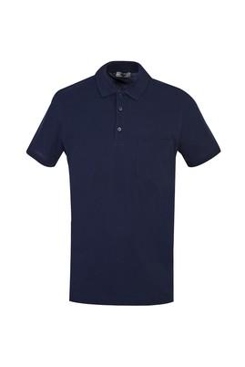Erkek Giyim - KOYU LACİVERT S Beden Polo Yaka Regular Fit Tişört