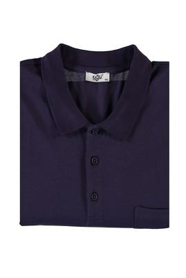 Erkek Giyim - AÇIK MOR 4X Beden King Size Polo Yaka Tişört