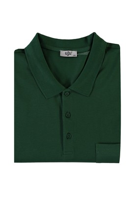 Erkek Giyim - NEFTİ 5X Beden King Size Polo Yaka Tişört
