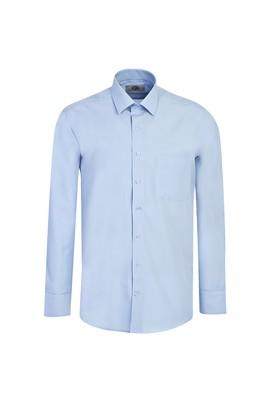 Erkek Giyim - GÖK MAVİSİ L Beden Uzun Kol Klasik Gömlek