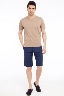 Erkek Giyim - KOYU MAVİ 52 Beden Bermuda Şort