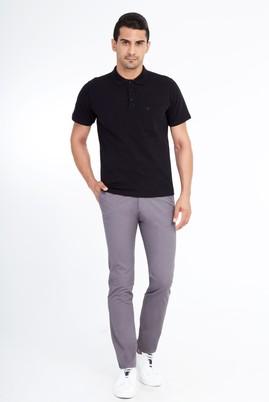Erkek Giyim - Füme Gri 56 Beden Slim Fit Spor Pantolon