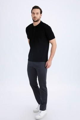 Erkek Giyim - Füme Gri 64 Beden Saten Spor Pantolon