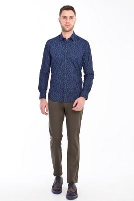 Erkek Giyim - HAKİ 50 Beden Spor Saten Pantolon