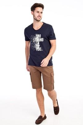 Erkek Giyim - TOPRAK 48 Beden Spor Bermuda Şort