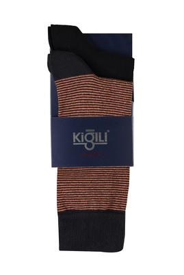 Erkek Giyim - TABA 40 Beden 2'li Desenli Çorap