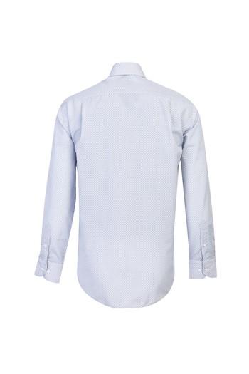 Erkek Giyim - Uzun Kol Spor Baskılı Gömlek