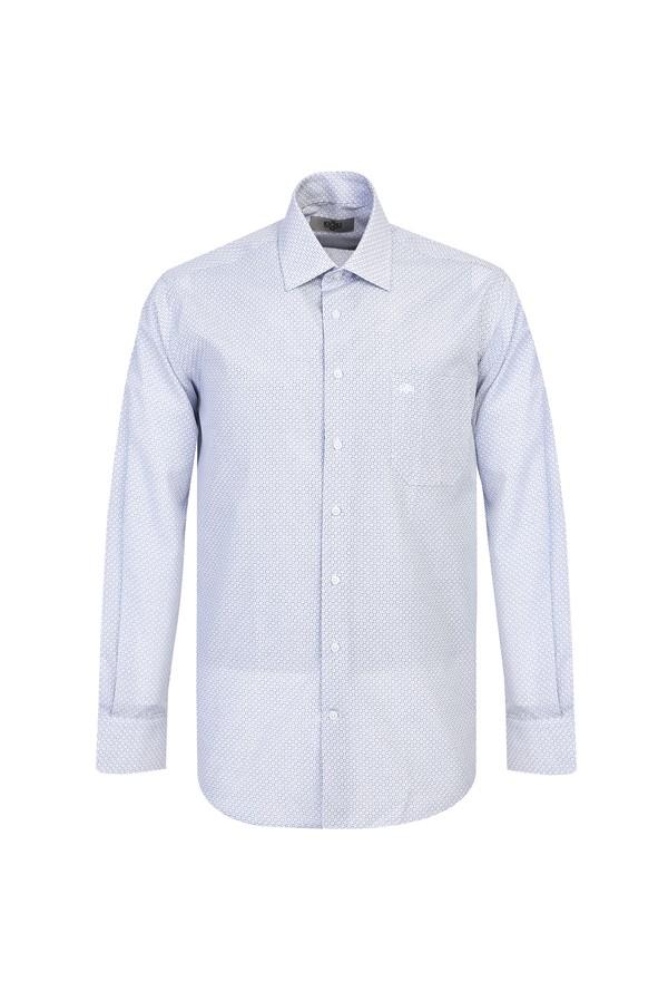 Uzun Kol Spor Baskılı Gömlek