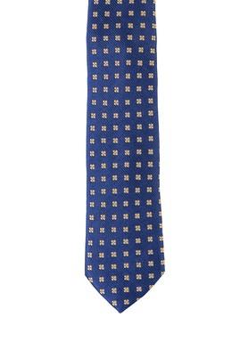 Erkek Giyim - ORTA LACİVERT  Beden Desenli Kravat