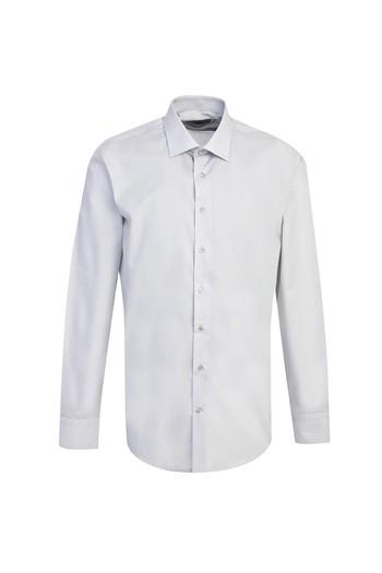 Erkek Giyim - Uzun Kol Spor Slim Fit Gömlek