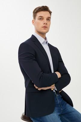 Erkek Giyim - KOYU LACİVERT 52 Beden Blazer Ceket