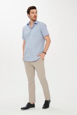 Erkek Giyim - KUM 50 Beden Slim Fit Spor Desenli Pantolon