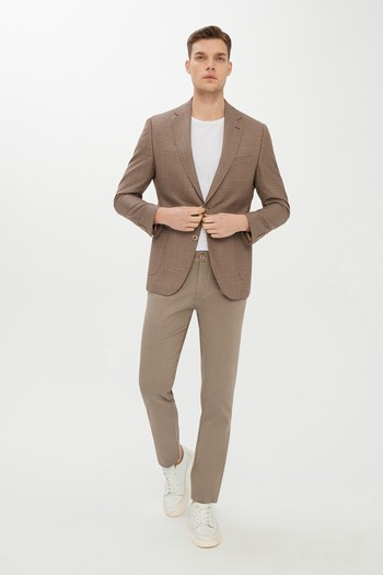 Erkek Giyim - Kuşgözü Spor Ceket