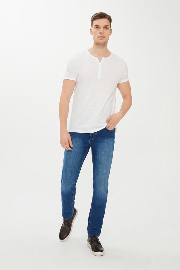 Slim Fit Düğmeli Yaka Tişört