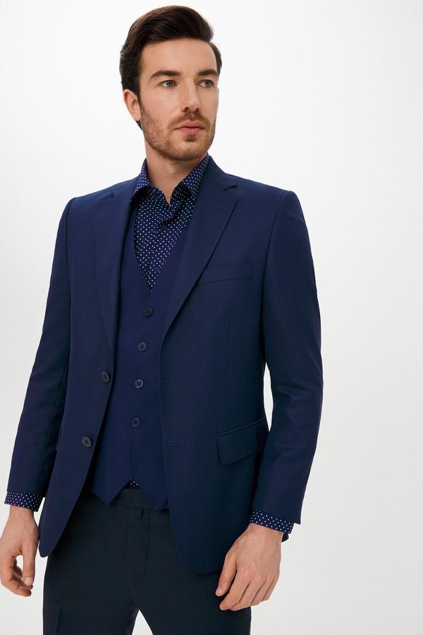 Yelekli Kombinli Kareli Takım Elbise