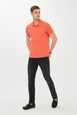 Erkek Giyim - FÜME GRİ 46 Beden Slim Fit Denim Pantolon