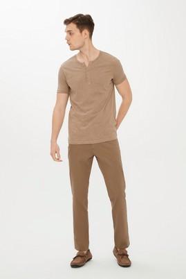 Erkek Giyim - AÇIK KAHVE - CAMEL 48 Beden Kuşgözü Spor Pantolon