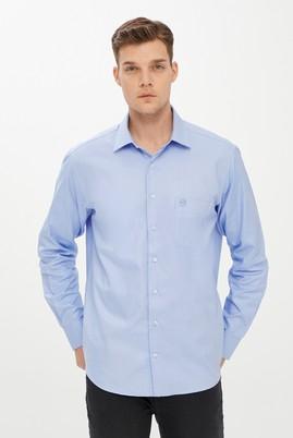 Erkek Giyim - MAVİ M Beden Uzun Kol Oxford Klasik Gömlek