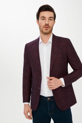 Erkek Giyim - MÜRDÜM 46 Beden Desenli Klasik Ceket