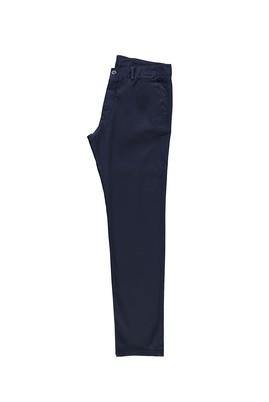 Erkek Giyim - LACİVERT 46 Beden Slim Fit Desenli Spor Pantolon