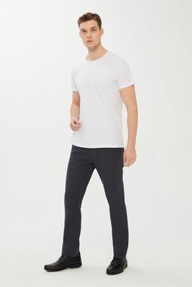 Erkek Giyim - ORTA FÜME 48 Beden Kuşgözü Spor Pantolon
