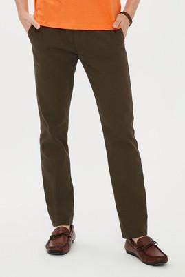 Erkek Giyim - AÇIK HAKİ 52 Beden Kuşgözü Spor Pantolon