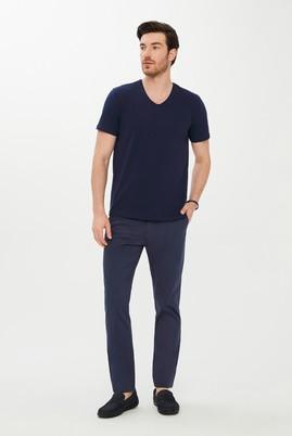 Erkek Giyim - İNDİGO 46 Beden Slim Fit Desenli Spor Pantolon