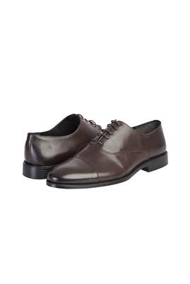 Erkek Giyim - ORTA KAHVE 44 Beden Klasik Bağcıklı Ayakkabı