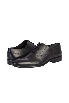 Erkek Giyim - SİYAH 42 Beden Klasik Bağcıklı Ayakkabı
