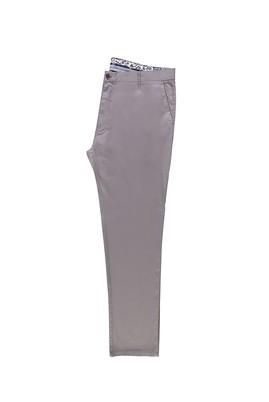 Erkek Giyim - ORTA FÜME 68 Beden Saten Spor Pantolon