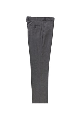 Erkek Giyim - Orta füme 50 Beden Klasik Ekose Yünlü Pantolon