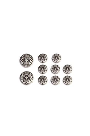 Erkek Giyim - Metal Ceket Düğme Seti