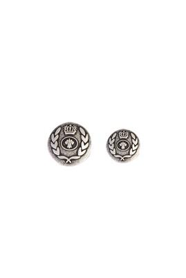 Erkek Giyim - SİYAH STD Beden Metal Ceket Düğme Seti