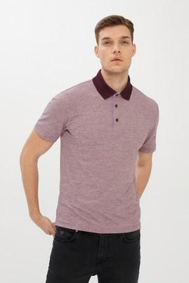 Erkek Giyim - MÜRDÜM 3X Beden Polo Yaka Desenli Regular Fit Tişört