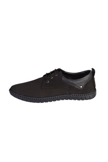 Erkek Giyim - Casual Bağcıklı Nubuk Ayakkabı