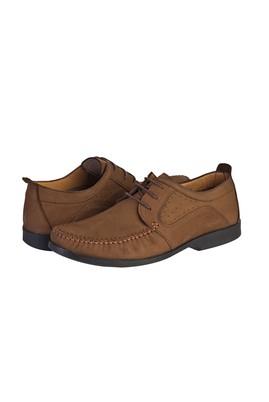 Erkek Giyim - TABA 40 Beden Casual Bağcıklı Nubuk Ayakkabı