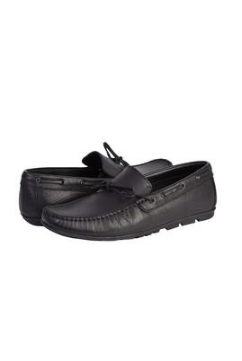 Erkek Giyim - SİYAH 40 Beden Casual Bağcıklı Loafer Ayakkabı