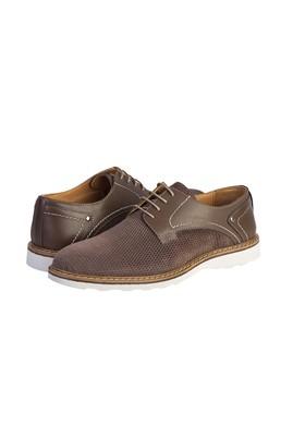 Erkek Giyim - AÇIK VİZON 40 Beden Casual Bağcıklı Ayakkabı