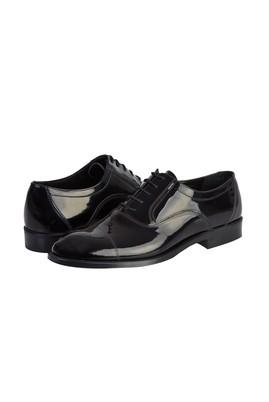Erkek Giyim - SİYAH 39 Beden Klasik Rugan Ayakkabı